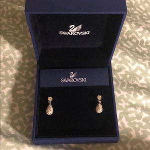 SWAROVSKI 925 silver earrings,